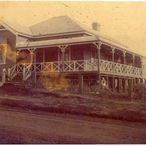 1913 - 'Eden Dene' - Steel Family Home in 1913